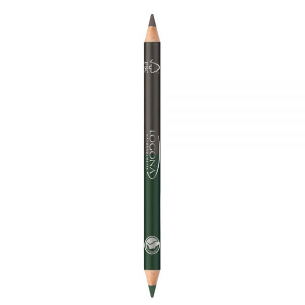 Double Eyeliner Pencil No. 02 forest